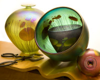 art-glass-bowls-vase-group