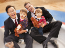 family-merry-go-round